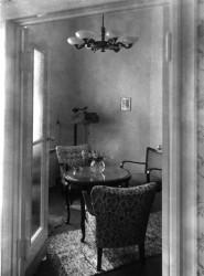 Teezimmer 50er Jahre