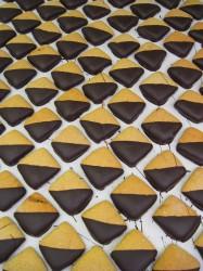 Honigkuchen mit Schokolade
